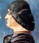 ルドヴィーコ・スフォルツァの肖像(アンヴロジョ・デ・プレディス画)