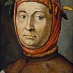 作者不詳のペトラルカの肖像画