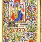 時祷書も忘れちゃいけない……というわけで、1410年ごろのパリの時祷書からの図像(wikipedia)