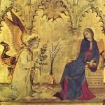 シモーネ・マルティーニ≪受胎告知≫、1333年